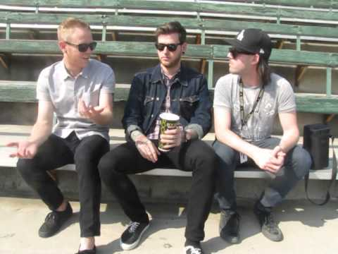 Neil and Josh of A Day To Remember talk fans, fashion, and their undying love for Blink-182!
