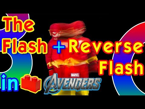 The Flash and Reverse Flash in Lego Marvel Avengers - Free Roam