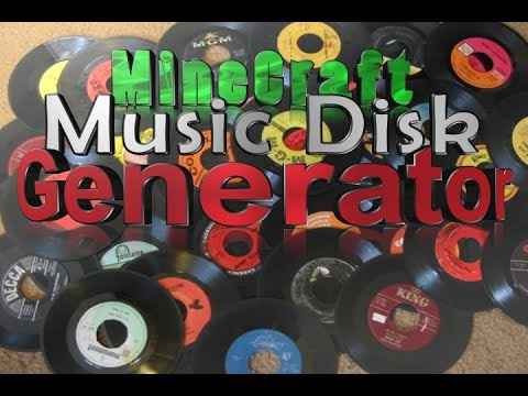 MineCraft - Music Disk Generator - PS3/Xbox 360