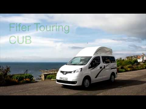 NV200 Campervan - Fifer Touring Cub - By East Neuk Campervans - Presented By Rona Bromley