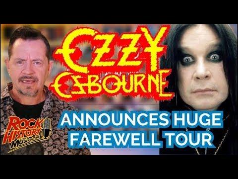 Ozzy Osbourne Announces Farewell World Tour With 2-Year-Trek Mp3