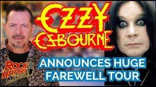 Ozzy Osbourne Announces Farewell World Tour With 2-Year-Trek