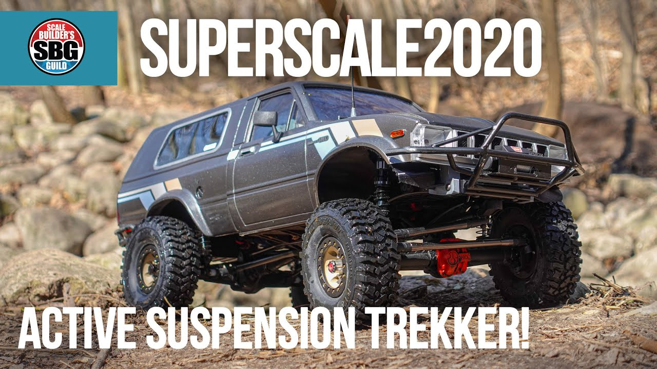 Superscale2020 Real RC Suspension!