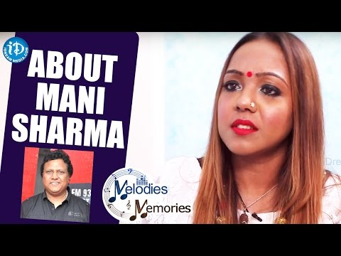 Bhargavi Pillai About Music Director Mani Sharma || Melodies And Memories