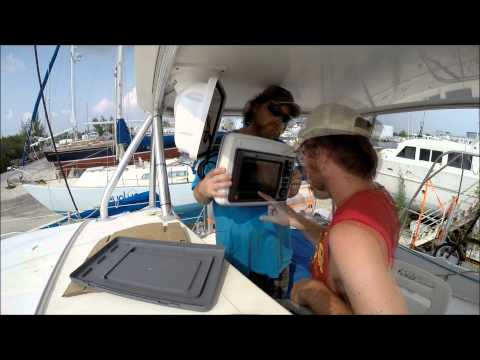 Sailboat Refit - Episode 4 - Seatalk Cable, 12 volt Panel, and Standing Rigging