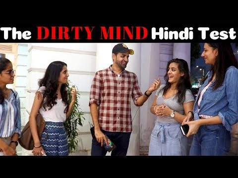 Dirty Mind Hindi Test | Siddhartth Amar | Street Interview India