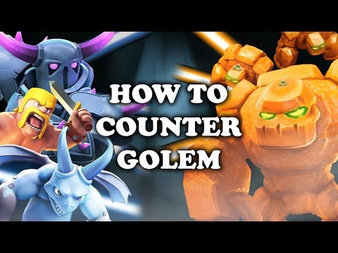 Clash Royale | How to Counter Golem