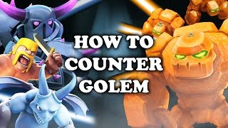 Video Clash Royale | How to Counter Golem download MP3, 3GP, MP4, WEBM, AVI, FLV Agustus 2017