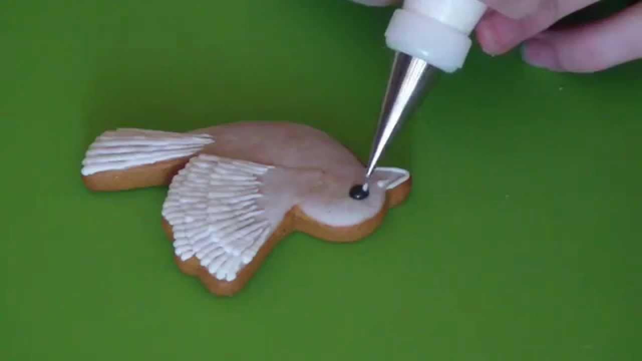 Видео мк по росписи пряников