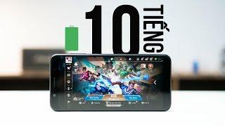 Đánh giá thời lượng pin chơi Game của Asus Zenfone Max Pro M1