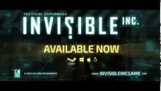 Invisible, Inc. Launch Trailer (PC/Linux/Mac)