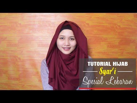Tutorial Hijab Syar'i Spesial Lebaran ( INDONESIA ) -Amalia Kurnia-