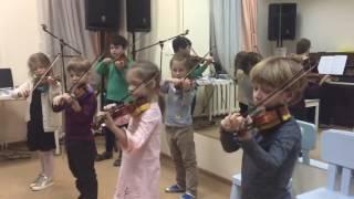 Ученики Студии скрипки