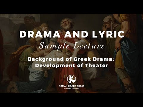 Lecture 1 | Drama & Lyric (Old Western Culture) - Sample lecture