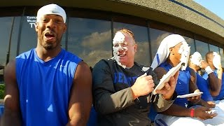 Kentucky Wildcats TV: Whipped Cream Challenge for Pediatric Cancer Awareness Month