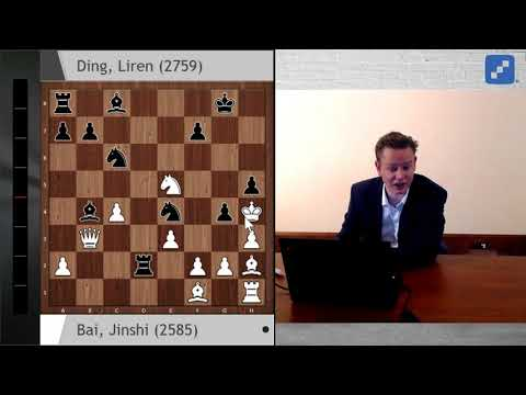 Ding Liren plays a mind-blowing game of chess