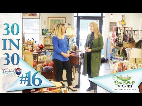 Pea Soup for Home and Consignment Boutique | Day 16 of 30