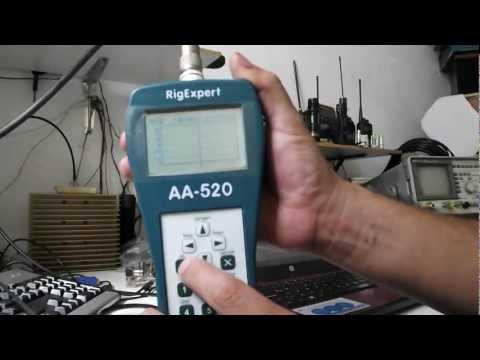 RigExpert AA-520 Analizador de Antena Antenna Analyzer Test
