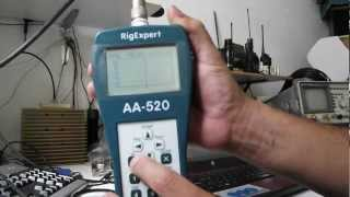 RigExpert AA-520 Analizador de Antena Antenna Analyzer Test