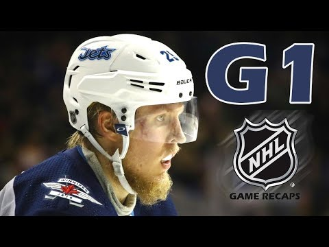 Winnipeg Jets vs Nashville Predators. 2018 NHL Playoffs. Round 2. Game 1. 04.27.2018. (HD)