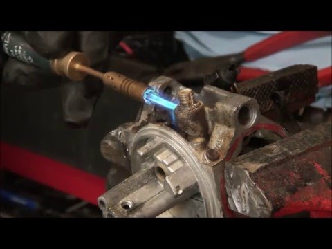 LAWNMOWER LEAKING GAS? Briggs and Stratton CARBURETOR FUEL INLET - FUEL LINE Connector ELBOW