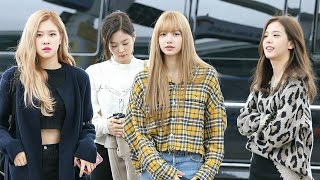 181005 ◎ BLACKPINK at ICN Airport Heading to Japan