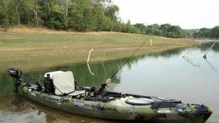 Kayak Jackson Cuda Motor Mercury 3.3 hp Brazil