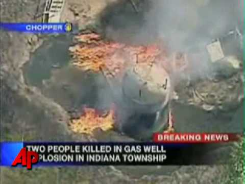 Raw Video: Deadly Gas Well Explosion