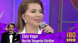 Ebru Yaşar '' Ben Ne Yangınlar Gördüm '' isimli şarkısını seslendiriyor
