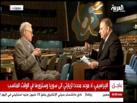 Brahimi Interview   1 Sept 2012