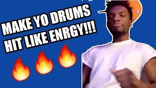 Make YOUR drums slap like ENRGY BEATS!!!