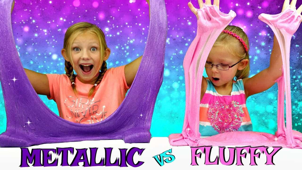 Metallic slime vs fluffy slime challenge diy viral slimes tested metallic slime vs fluffy slime challenge diy viral slimes tested magic box toys collector ccuart Choice Image