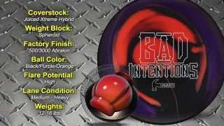 bowlingball.com Hammer Bad Intentions Hybrid Bowling Ball Reaction Video Review