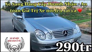 (Đã Bán) Mercedes E240 2004 Giá 290tr Đẳng Cấp Doanh Nhân LH E Bảo 01644476805