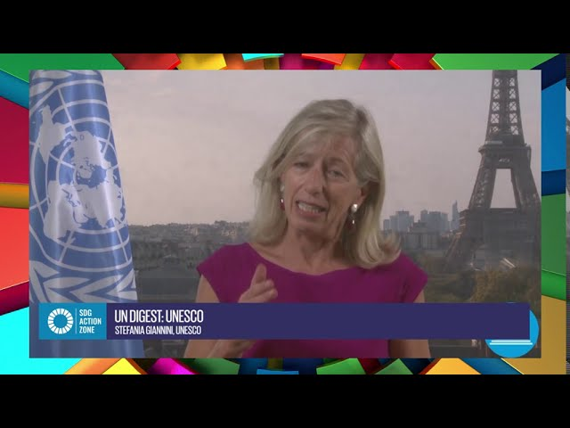 UN Digest with Stefania Giannini, Assistant Director-General for Education, UNESCO
