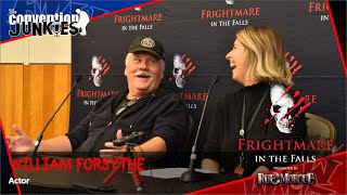 William Forsythe (Devil's Rejects, Halloween, Justified) Frightmare in the Falls Horror Con Q&A 2019