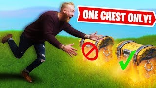 One Chest Challenge! | Fortnite