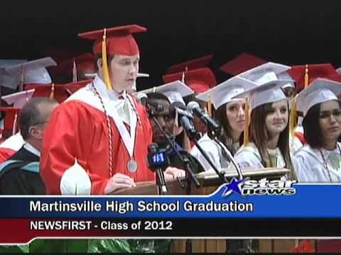 Martinsville High School Graduation 2012.mpg