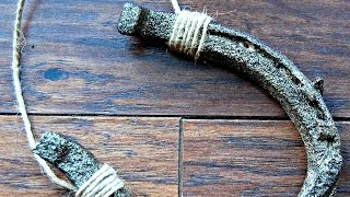 How To Hang A Horseshoe For Good Luck - DIY Home Tutorial - Guidecentral