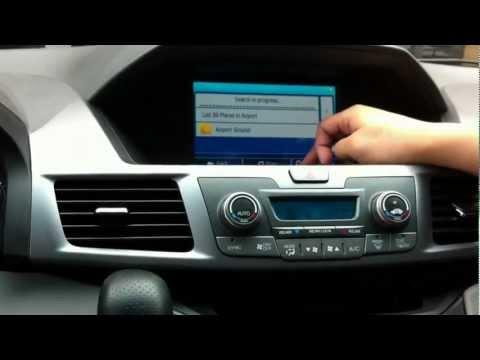 2011-2015 Honda Odyssey Pilot GPS integration navigation (DEMO 1)