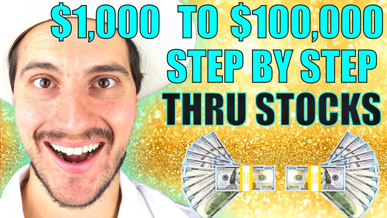 HOW TO TURN $1,000 to $100,000 IN STOCKS NOW (5 STEPS)