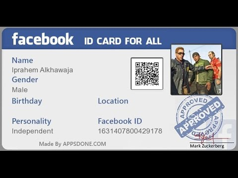 Confirm Your Identity Facebook Youtube Rh Com Hackathon ID Card Fix