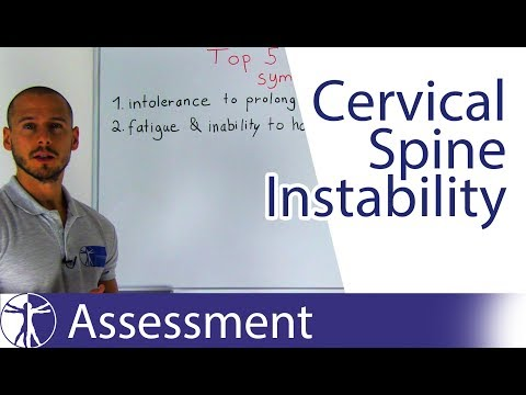 Signs & Symptoms of Cervical Spine Motor Control Impairment