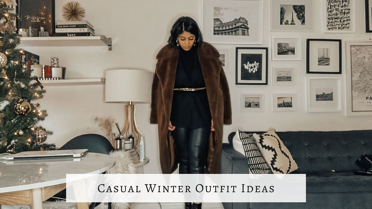 [VIDEO] - Winter Outfit Ideas 2019 | Early/Mid Winter 2