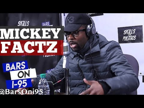 Mickey Factz freestyles on Bars On I-95