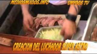 PREPARACION DE LA TORTA GLADIADOR CREACION DE SUPER ASTRO.wmv