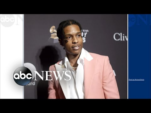 A$AP Rocky detained in Sweden after fight video goes viral