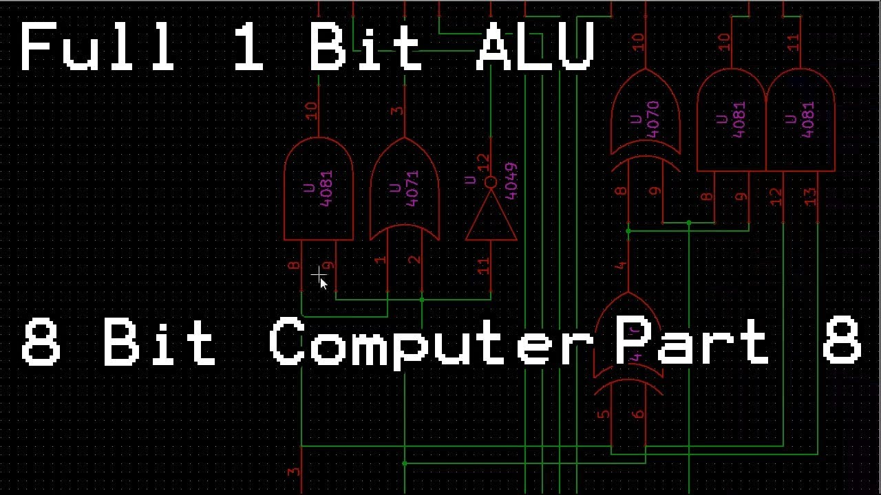 8 bit alu logic diagram [ 1280 x 720 Pixel ]