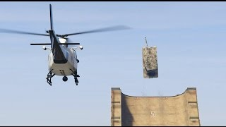 GTA 5 - Airport Getaway - Tank Stunt thumbnail