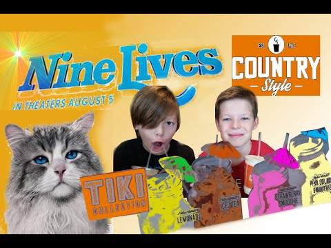 Tiki Collection drinks/ Country Style Canadian/ Nine Lives Movie 2016/ Food Review